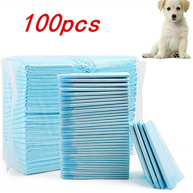 Pet-Training Pads dogs pets clothing 4 Size Healthy Clean Wet Mat  cat dog diapers pad 2020 | Happy Baby Mama