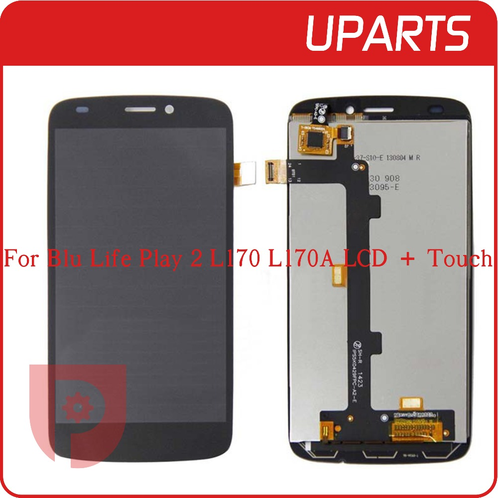 A+ High quality 4.7 For Blu Life Play 2 L170 L170A Lcd Display With Touch Screen Digitizer Assembly Complete, Tracking code