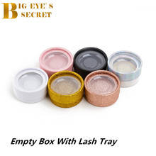 3D Mink Eyelash Extension Shiny Empty Lash Box fake Packaging 25 mm Eyelashes For Makeup Hair Lashes