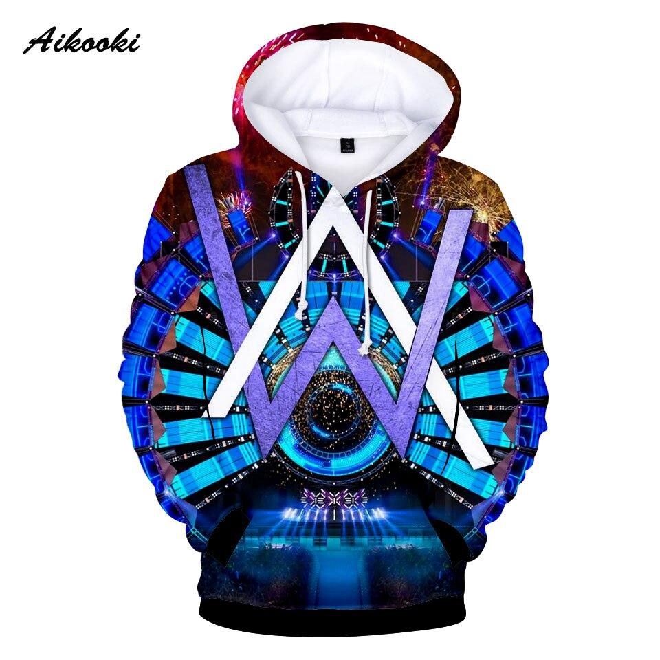 Keep Warm Alan Olav Walker Fashion 3D Print Hoodies Sweatshirts Spring Autumen Men's 3D Hoodies Alan Olav Walker Hooded Clothes