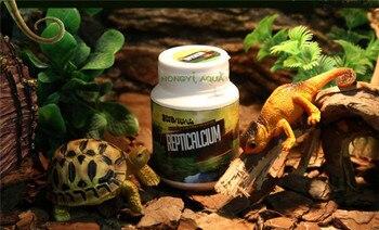 100g/bottle powder reptile supplement calcium powder lizards/chameleon/tortoise make calcium powder vitamin D3 reptile nutrition 1