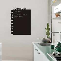 Для того, чтобы сделать список доска наклейка водостойкие Съемные Дети письма искусство мел доска товары для дома Декор Аксессуары 58X43 см