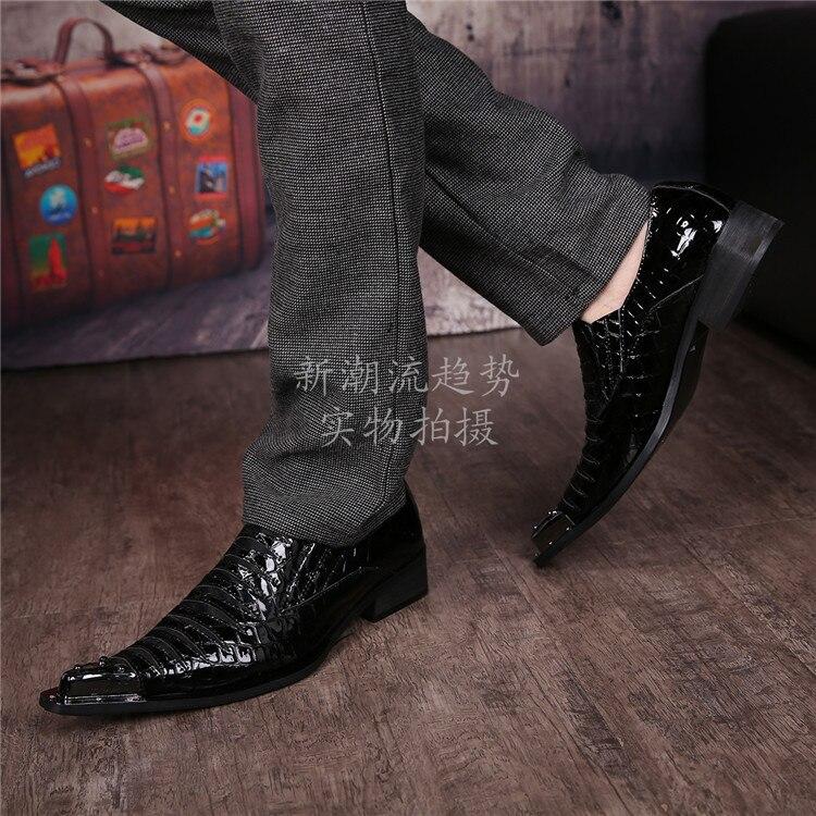 Alligator Dress Shoes For Men 20