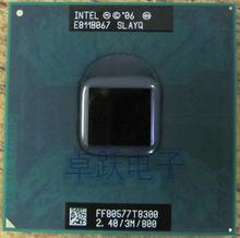 Original para laptop CPU intel Core 2 Duo T8300 CPU 3 M Cache/2.4 GHz/800/Dual-Core Soquete 479 processador de Laptop para GM45 PM45