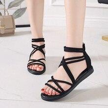 YOUYEDIAN модные летние сандалии женская обувь на плоской подошве женские Обувь с дышащей сеткой; комплект обуви sandalias mujer verano; мокасины на платформе# N6