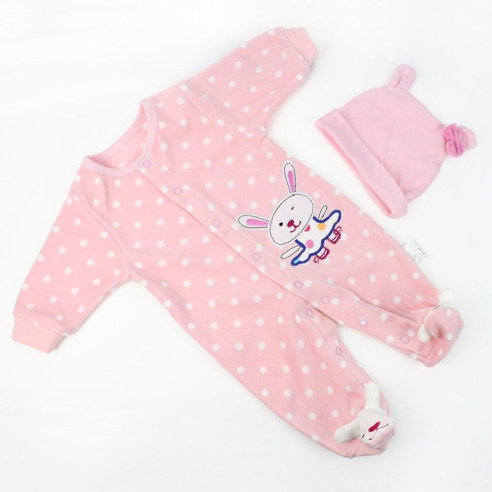 Aliexpress.com : Buy KAYDORA Reborn Baby Doll Clothes Fit ...