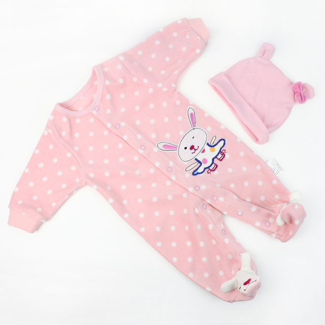 9574b5284 KAYDORA Reborn Baby Doll Clothes Fit for 20 22 inch Reborn Baby ...