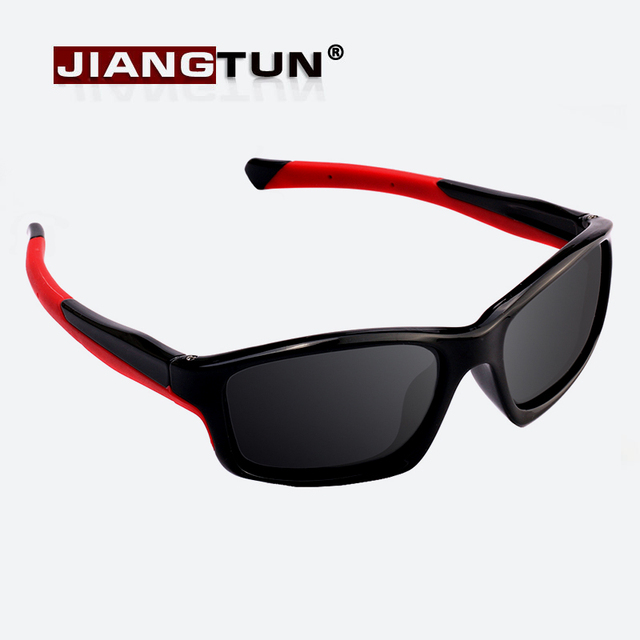 6e97b649d8 JIANGTUN 2018 Brand Kids Polarized Sunglasses High Quality Fashion Baby  Rubber Shades Children Sun Glasses 3-12 years JT3468