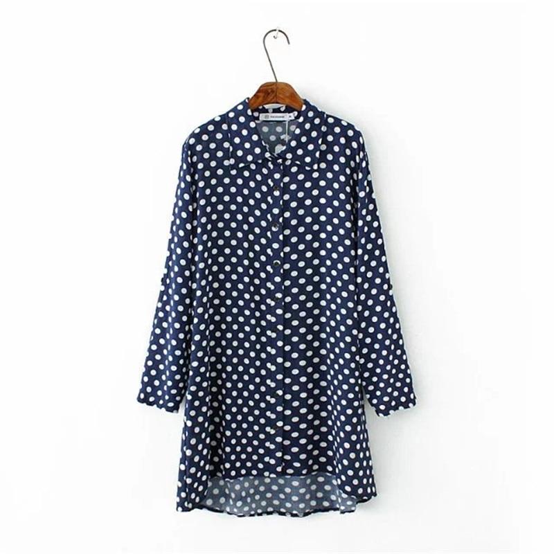 Popular Blue Top Polka Dots-Buy Cheap Blue Top Polka Dots lots ...