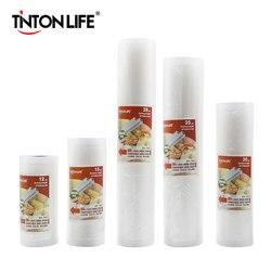 TINTON LEBEN Vakuum Versiegelung Taschen Lebensmittel Sealer Taschen Halten Lebensmittel Frisch