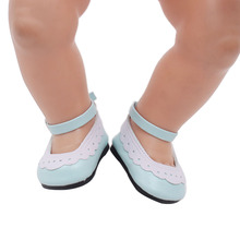 43 cm  doll shoes suitable for babies, children the best birthday present. G28