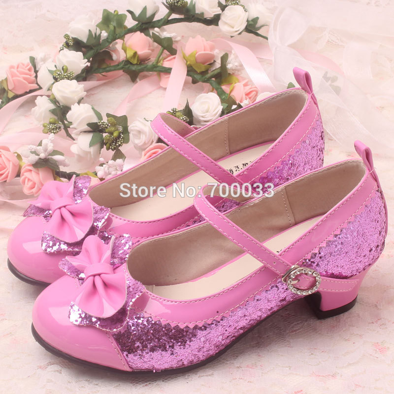 cac0c397d6c68 New!! Summer Style Children High Heel Shoes Girls Princess Shoes ...