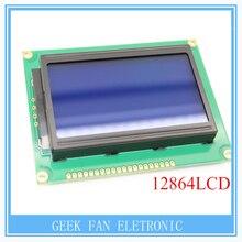 12864LCD 128×64 Точек Графический Синий Цвет Подсветки Модуль ЖК-Дисплей Контроллера Для Arduino Raspberry Pi A309