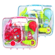 Zhenwei Children Pretend Toy Medicine Box Toys Set Early Childhood Education Doctor  Medical for