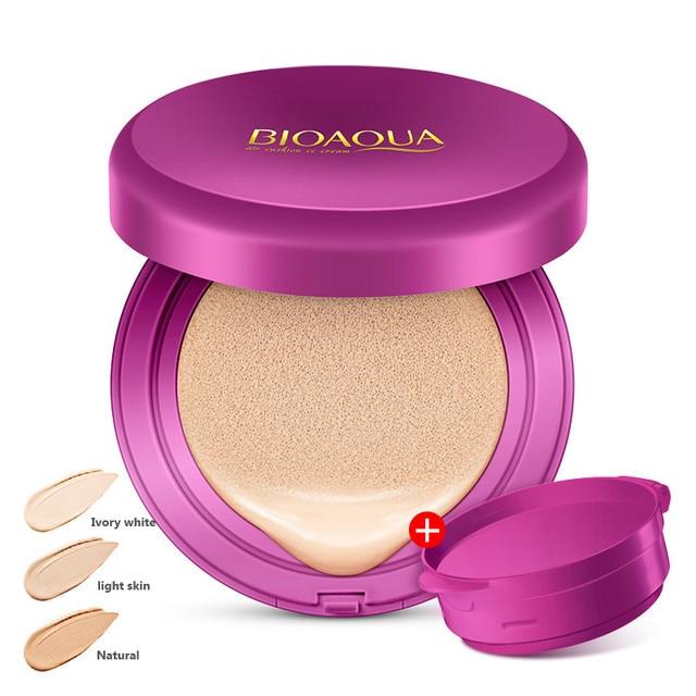 BIOAQUA maquillage coussin dair BB crème correcteur fond de teint hydratant maquillage blanchiment éclaircir visage beauté cosmétique