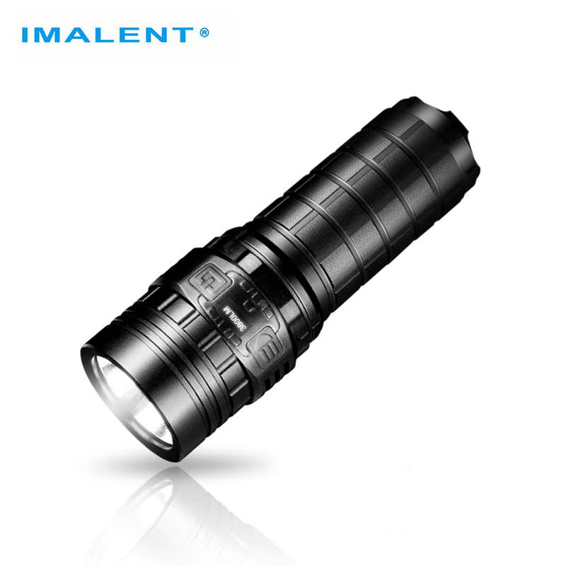 IMALENT DN70 Factory Outlet LED Flashlights CREE XHP70 3800 Lumens OLED Display Flashlight Powerful USB Rechargeable Led Torch