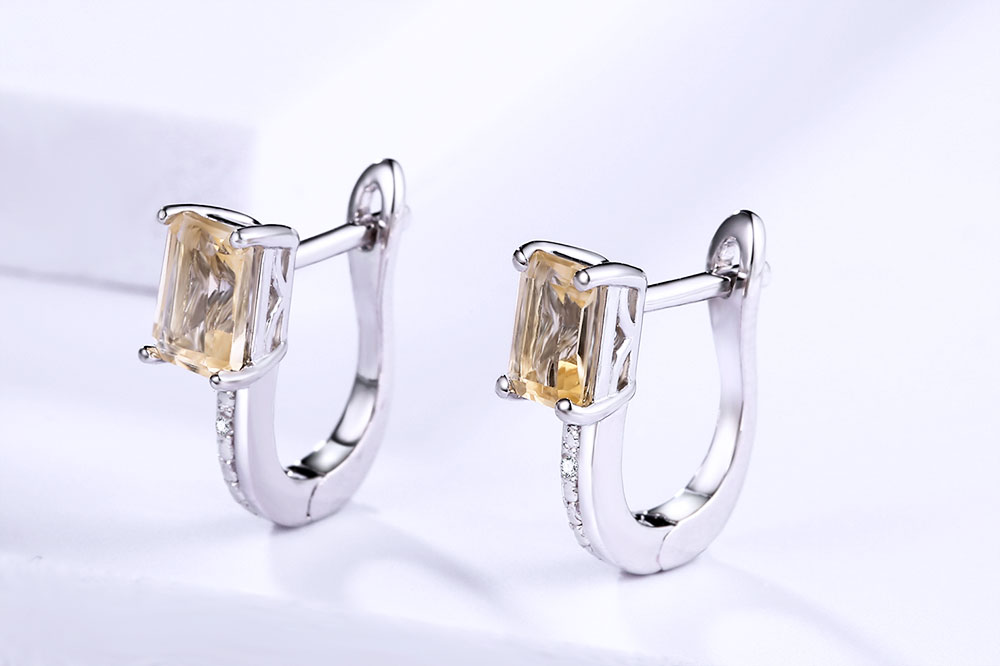 silver citrine diamond earrings CASE06156SC-1 (6)