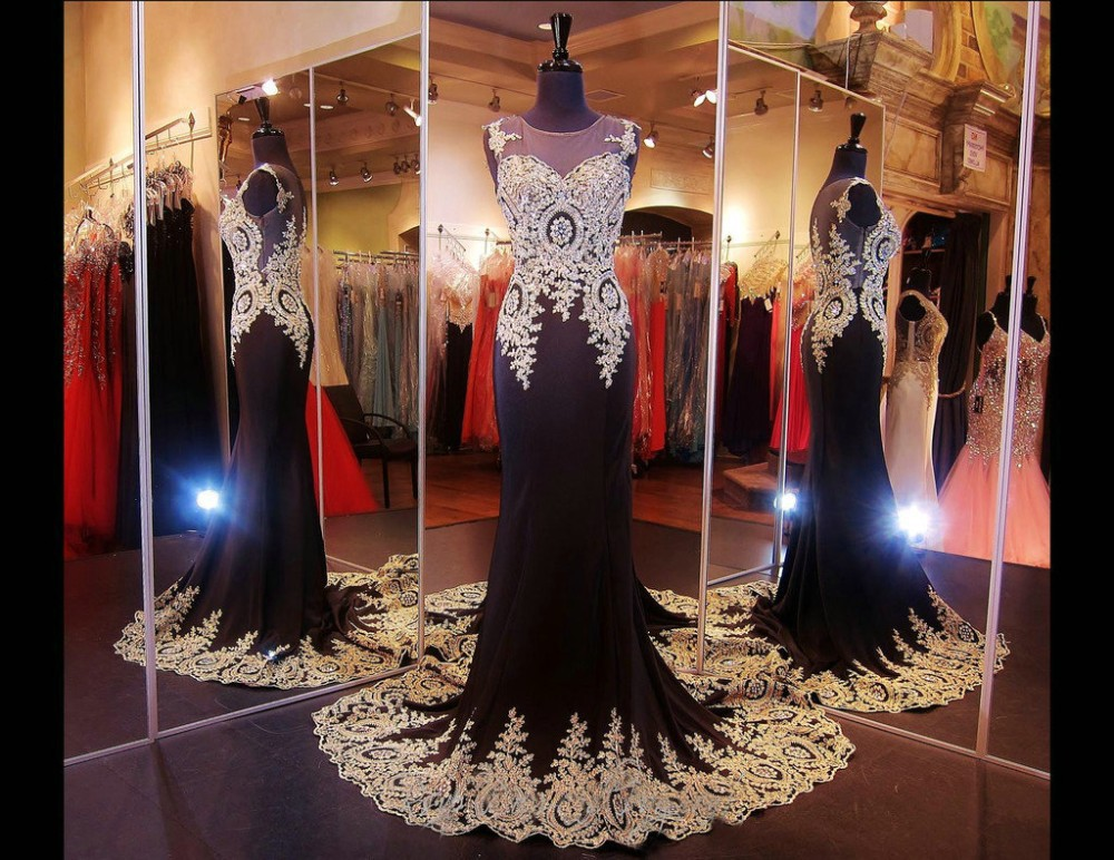 Elegant Pageant Women Mermaid Scoop Neck Special Occasion 2018 Vestido Para Formatura Evening Gown Mother Of The Bride Dresses