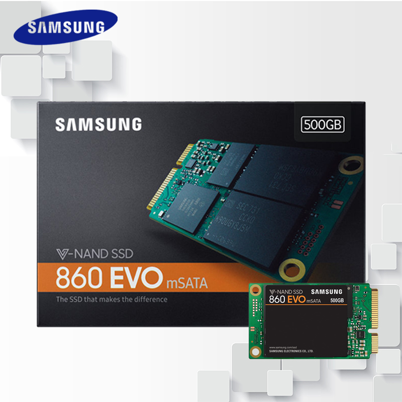 все цены на Samsung 860 SSD EVO mSATA SATA III 250GB 500GB 1TB Internal Solid State Drive HD Hard High Speed for Laptop PC Computer Desktop