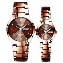 Brand Luxury Lover Watches Quartz Calendar Dress Women Men Watch Couples Wristwa