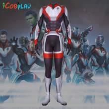 Adult Avengers 4 cos Final Battle Quantum Cosplay Costume 3D Print Siamese Tights Party Holiday Halloween Role Playing