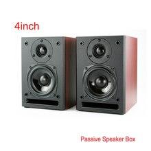 Портативный качество 4 дюймовый пассивный автомобильный аудио Hi-fi деревянный Динамик s Hi End KTV Boom Box этап Динамик полный спектр сабвуферы