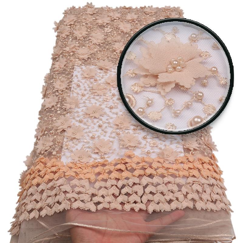 Visokokvalitetna ručno rađena čipkasta tkanina, šampanjac zlato - Umjetnost, obrt i šivanje - Foto 6