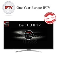 One Year Europe IPTV Subscription Arabic French UK Spain Germany Italy 2000+ Live Adult Channels For Android TV Box Smart TV