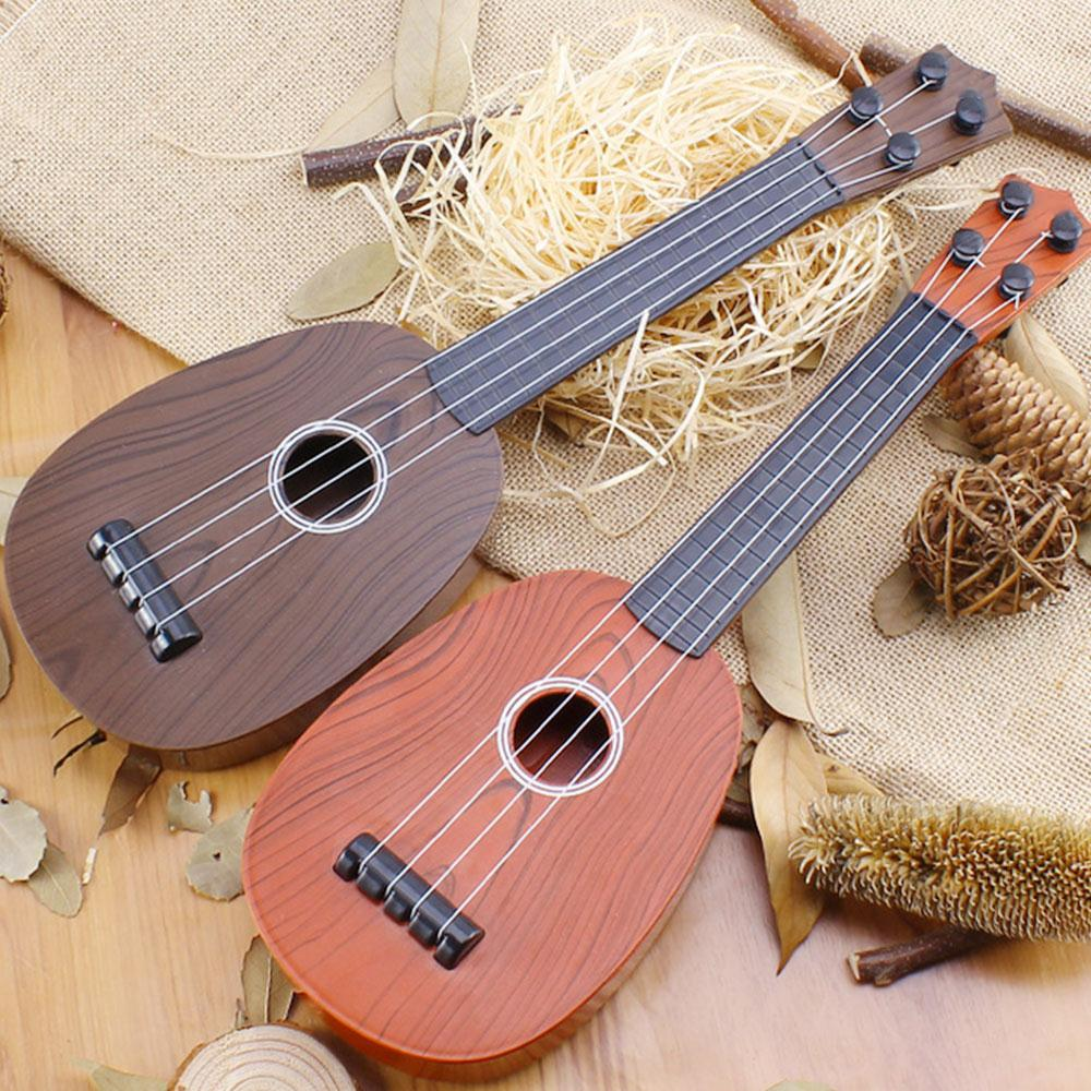 Yuker 41cm Ukelele Guitar Kids Baby 4 String Acoustic Toy Ukelele Guitar Wisdom Development Simulation Music Toy