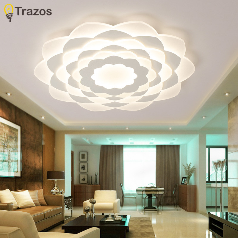 2018 Gleam Double Glow modern led ceiling lights for living room bedroom lamparas de techo dimming ceiling lights lamp fixtures modern led ceiling lights for living room bedroom foyer luminaria plafond lamp lamparas de techo ceiling lighting fixtures light