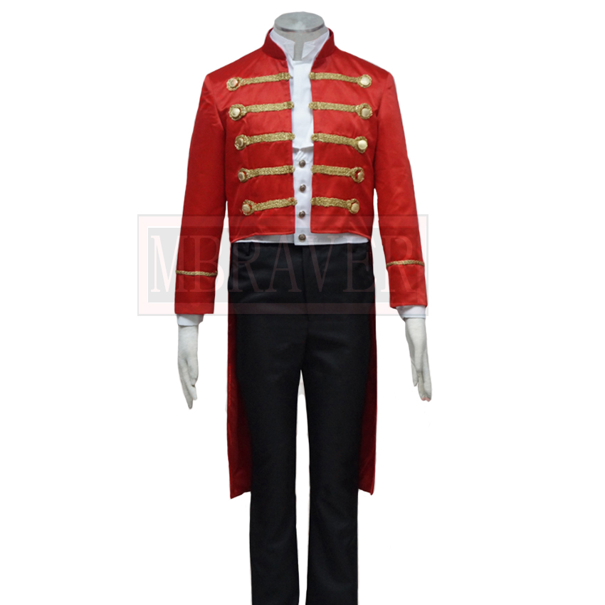 2018 The Greatest Showman Phillip Carlyle Cosplay Costume Custom Made Any Size