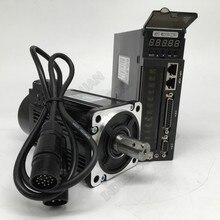 400 Вт 600 Вт 750 Вт серводвигатель переменного тока комплекты привода 60 мм 80 мм 220 В 3000об/мин Modbus RS485 2500 линейный кодировщик для токарного станка с ЧПУ фрезерного станка