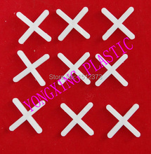 500pcs/bag plastic cross/ tice spacer 2.5 white color locate the ceramic tile
