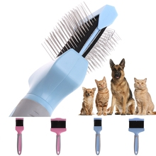 Pet Sided Needles Comb Dog Brush for Cats Dogs Hair Removal Soft Grooming Clean Product Care Tool