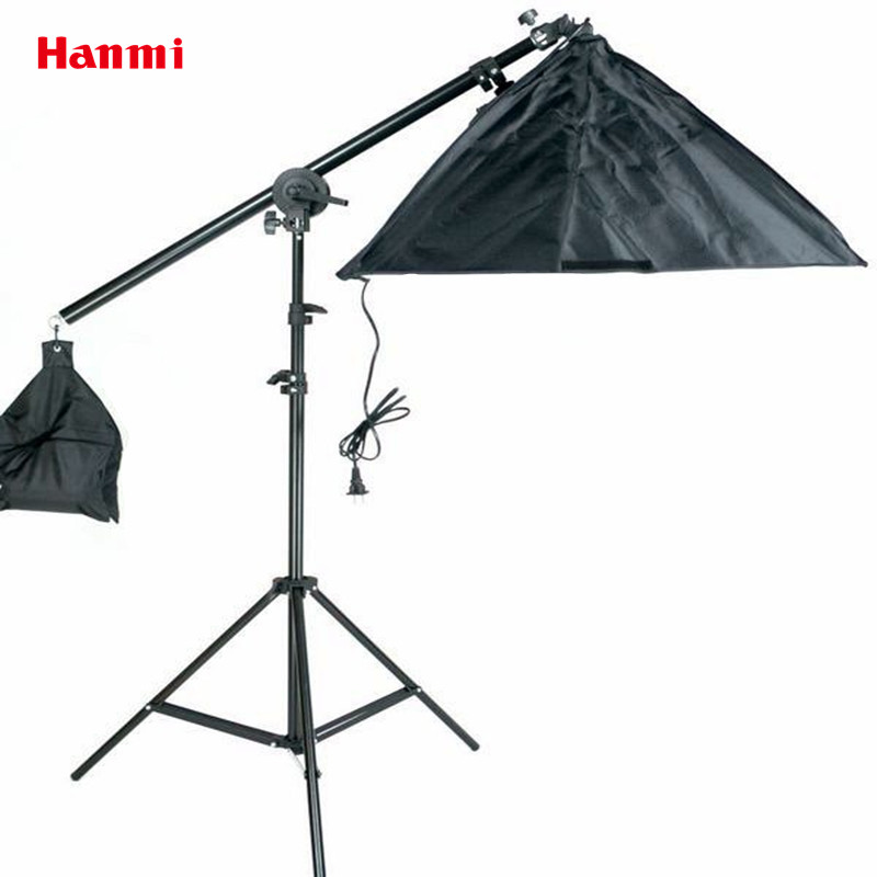 Photography Studio Accessories Soft Box Fotografia Mini Led Studio Photo Box Dome Cross Arm 50*70 Single Lamp Softbox Lightbox ashanks d40 led lightbox photography lighting photographic studio equipment accesorios fotografia for photo studio