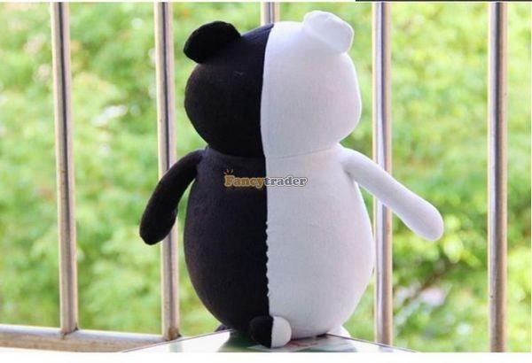 Fancytrader 28\'\' 70cm 2 pcs Giant Stuffed Cute Plush Monokuma and Monomi, Free Shipping FT50353 (7)
