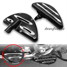 Motorcycle Footboards for Footrest Accessories Moto Parts For Harley Touring FLH Road King Dyna General 2000-2013