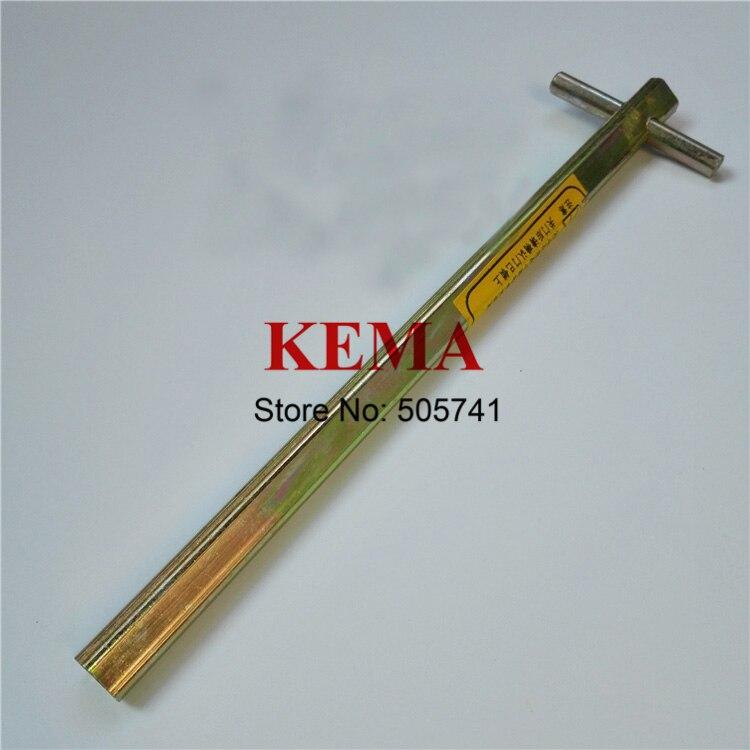 Free Shipping! 1pc 200mm Door Key Kone Elevator Door Key Triangle Key Lengthened Triangular Key Elevator Spare Parts