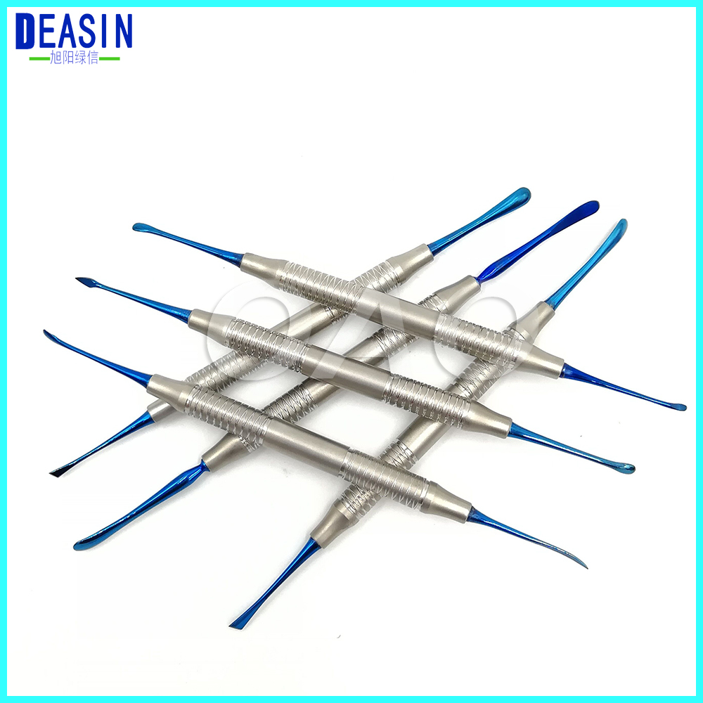 Dental periosteum Separator Gingival stripper Implant dental flap valve Gingival flap / Tissue retractor Dental apparatus 8pcs set high quality dental instruments implant flap periosteal separator periosteal stripping child