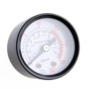 Image 5 - エアコンプレッサー空気圧油圧流体圧力計 0 12Bar 0 180PSI