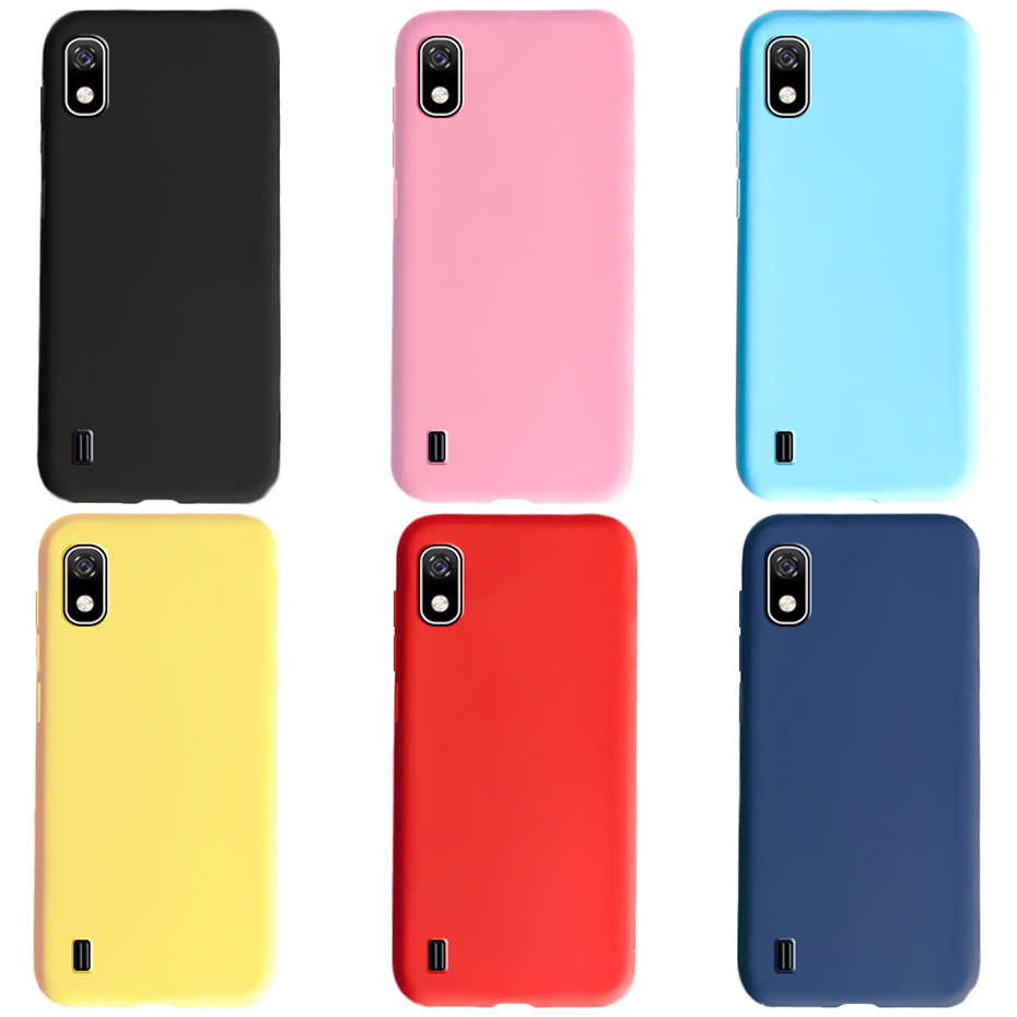 Soft Silicone Matte Bumper Coque Phone Cover TPU Cases For Funda Samsung A 10 A10