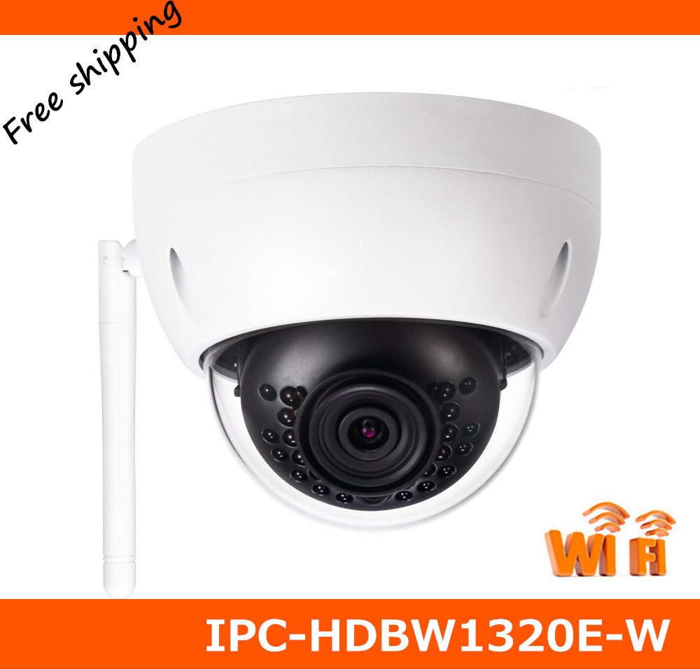 Newest DH 3MP HD Wi Fi IR Mini Dome Camera IPC HDBW1320E W font b Wireless