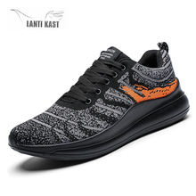 Lightweight Men Casual Running Shoes Fashion Sports Sneakers Breathable Lace-Up Trainers кроссовки