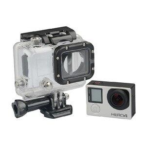 Image 3 - Wasserdicht Fall 45M Tauchen Sport Gehäuse Box mit Glas Montage für GoPro Hero 3/3 +/4 Kamera