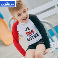 2018new summer children's swimsuit baby sun protection clothing boy swimwear suit quick drying swimsuit children's swimwearNTT33