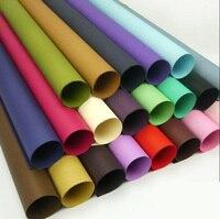 20 arkuszy/lot solid color kwiaty ślubne prezenty pakowania kreatywny DIY materiał krafe papieru do pakowania prezentu event & party materiałów eksploatacyjnych