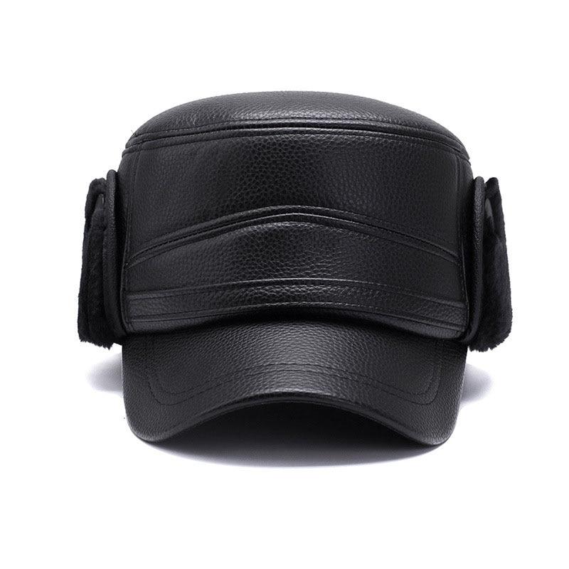 black leather ottoman 9376672412_517341466