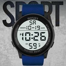 HONHX Men Wrist Watch Luxury Analog Sports LED Watches Mens