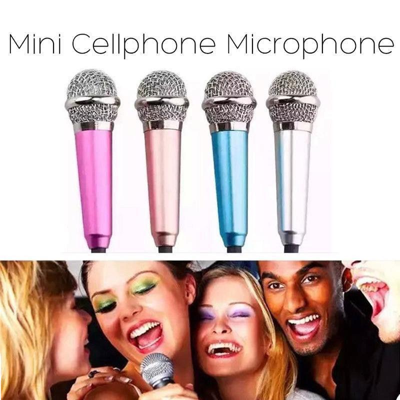 3.5mm Mini Stereo Studio Speechs Microphone For Phone PC Laptop Skype MSN Sing