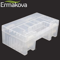 NEO 15cm Hard Plastic Battery Case Organizer Holder Container Battery Storage Box For AAA AA 9V